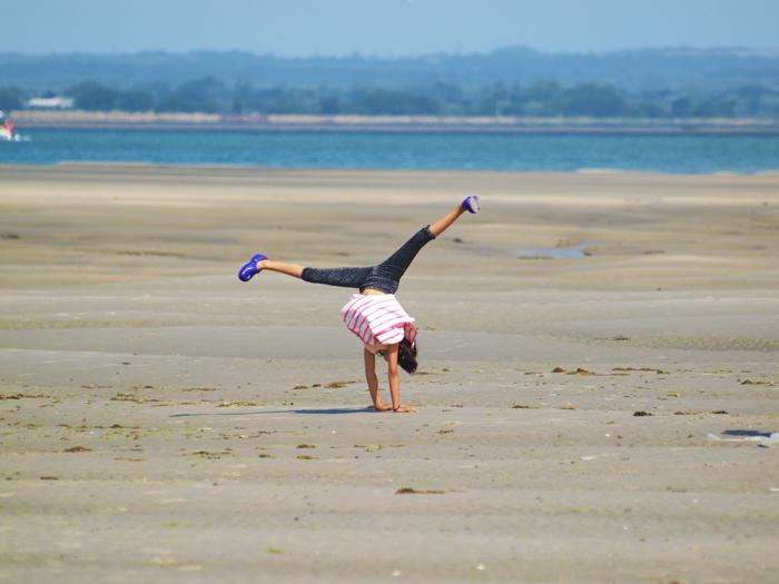 Beach Cartwheel